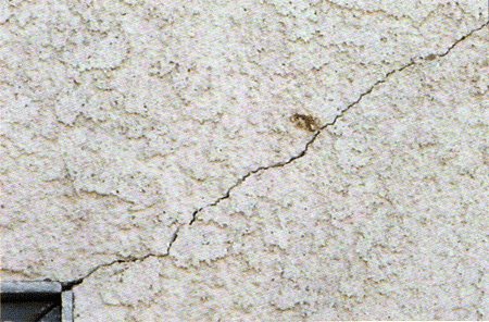 Stucco Crack Repair